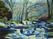 Winter Stream, Lake District